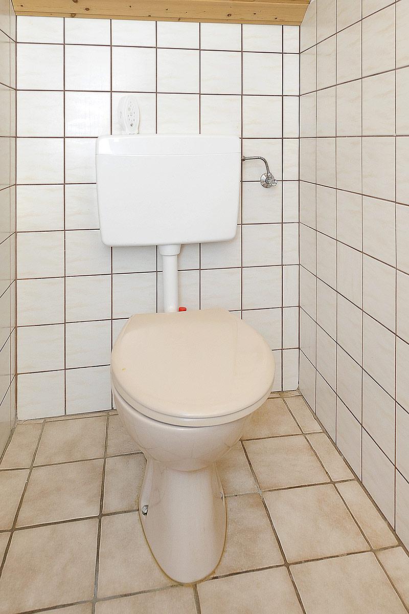 Getrenntes zusätzliches WC in der Ferienwohnung