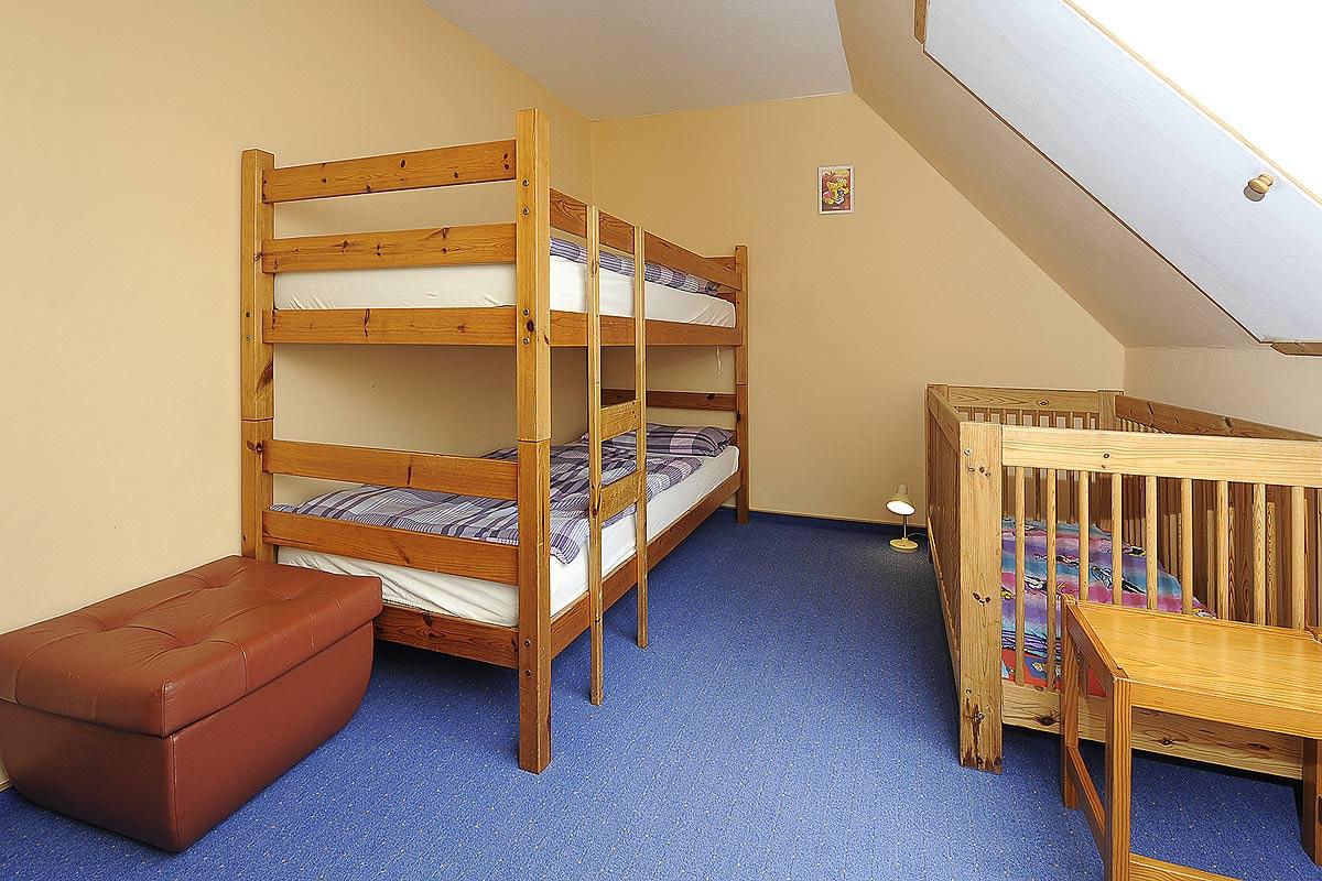 Kinderzimmer der Ferienwohnung Seestern in Carolinensiel
