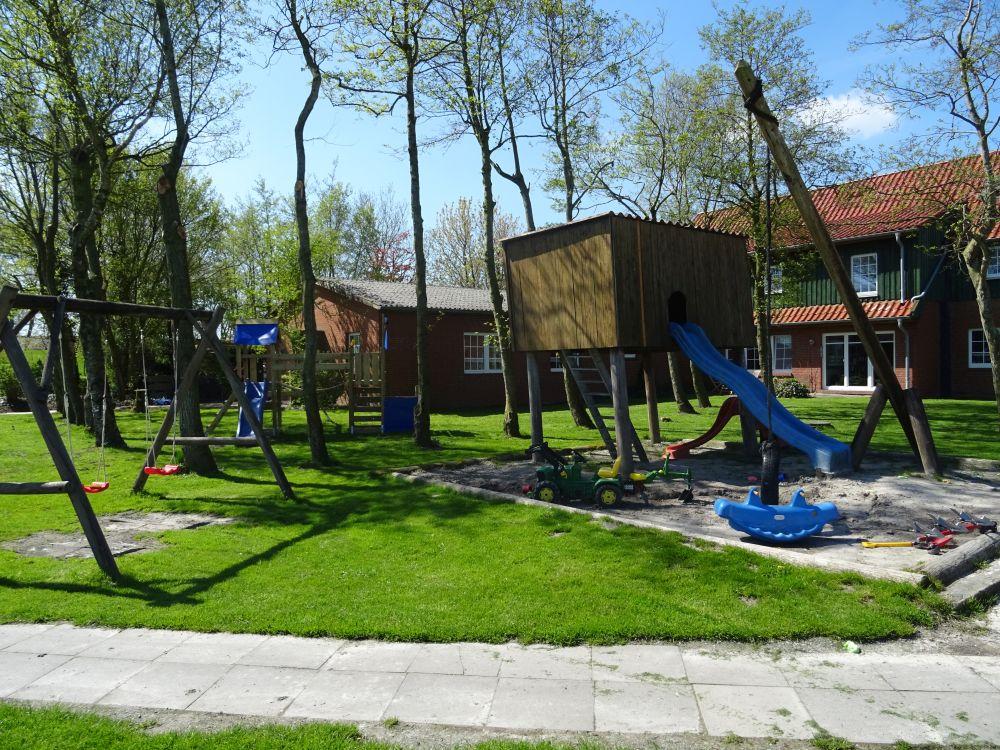 Abenteuerspielplatz für die Kinder