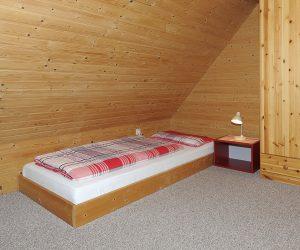 Kinderzimmer in der Ferienwohnung Wattwurm in Carolinensiel
